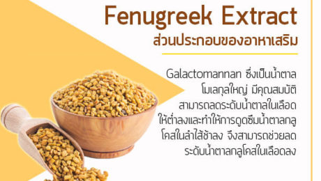 Fenugreek-Extract-ส่วนประกอบของอาหาเสริม