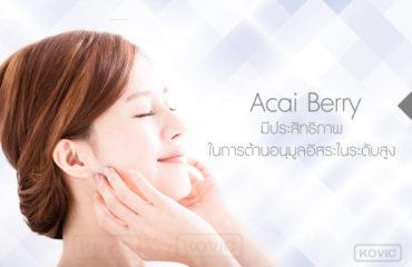 acai-berry ส่วนประกอบอาหารเสริม